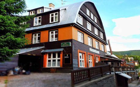 Hotel Svatý Hubert - Dovolená s polopenzí v srdci Špindlerova Mlýna