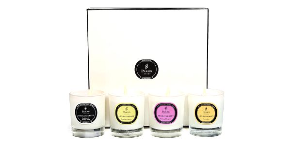 Sada čtyř vonných svíček Parks candles London + SLEVA 15 %