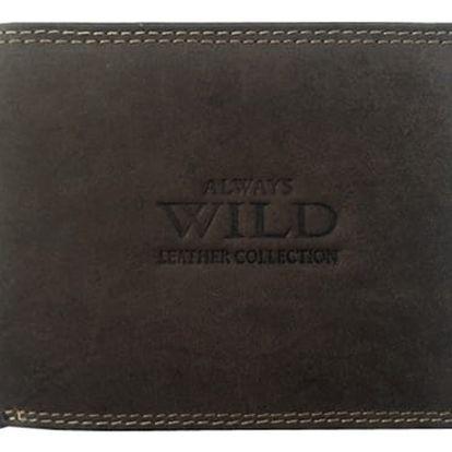 ALWAYS WILD Pánská kožená peněženka na šířku