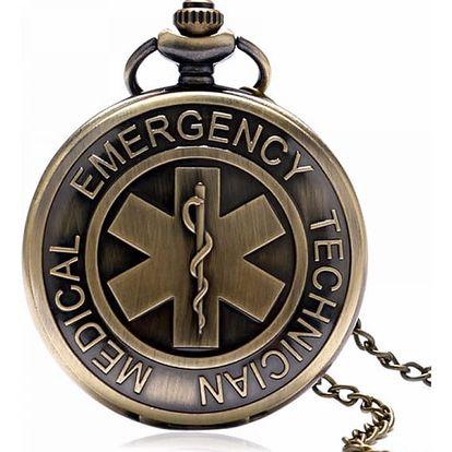 Kapesní hodinky pro zdravotníky - dodání do 2 dnů