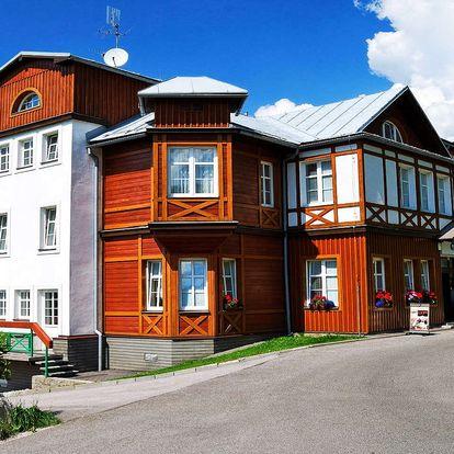 Hotel Sněžka ve Špindlerově mlýně s wellness, polopenzí a slevou na masáže