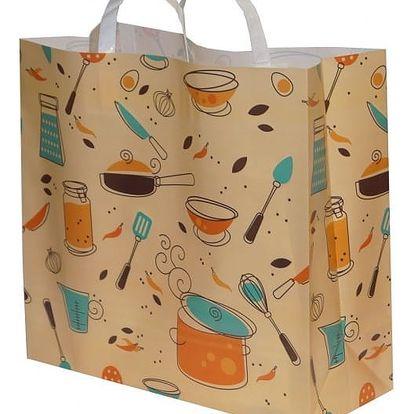 Pevná nákupní taška Kitchen 40 x 15 x 38 cm