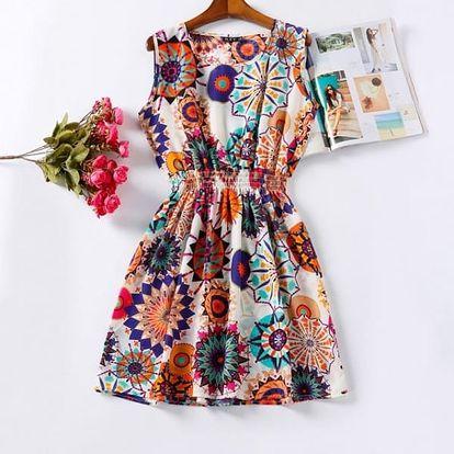 Rozmanité letní šaty - vzor: 18, velikost: 3
