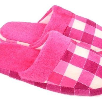 Domácí papuče - růžové