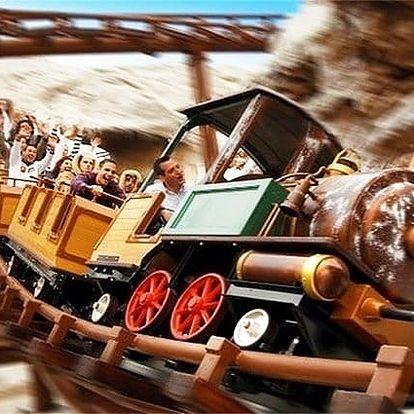 Zájezd pro 1 osobu do zábavního parku Gardaland v Itálii