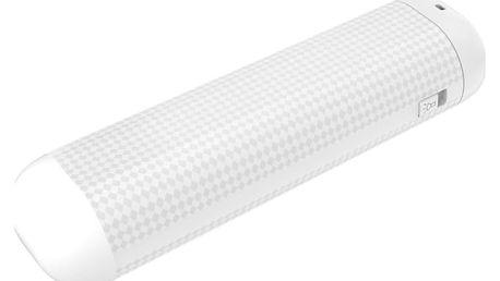 GoGEN PowerBank 2500 mAh, svítilna bílá - GOGPBL25004W