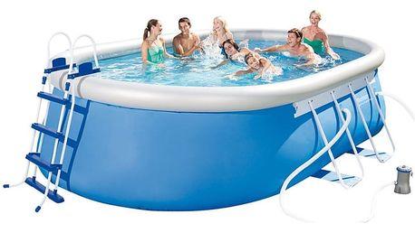 Rodinný bazén Bestway oválný 488 x 305 x 107 cm