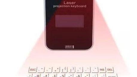 Hi-tech laserová virtuální klávesnice