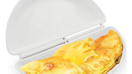 Forma na přípravu omelety v mikrovlnné troubě