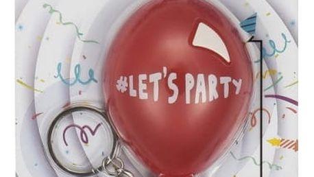 Zvuková klíčenka na párty Balónek