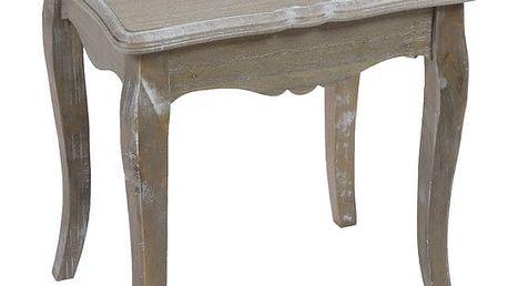 Odkládací stolek ze dřeva paulownie Santiago Pons Provence - doprava zdarma!