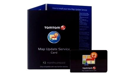 TOMTOM karta na 1 roční update map - 9SDA.001.01