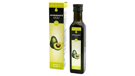 HEALTHLINK 100% BIO avokádový olej 250 ml