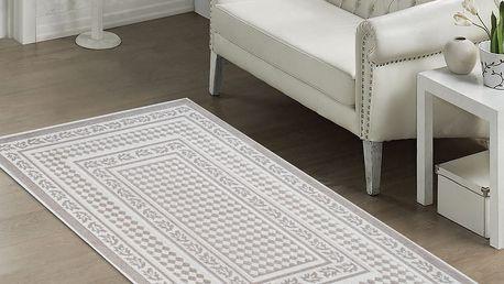 Béžový odolný koberec Vitaus Olivia, 80x150cm