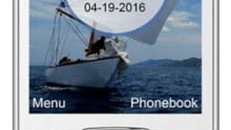 Mobilní telefon MaxCom Classic MM320 Single Sim (MM320WHSS) bílý