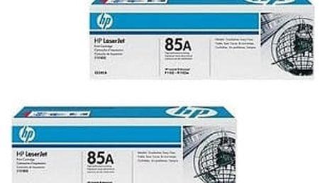 HP CE285AD černá, double pack - ušetřete až 20% oproti standardní náplni