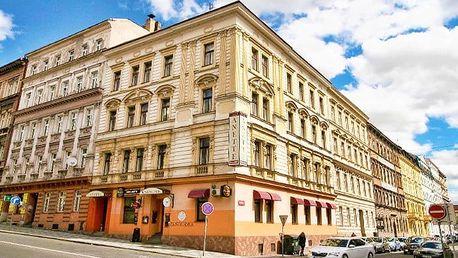 3–4denní seniorský pobyt s wellness a ochutnávkou piva v hotelu Anette v Praze pro 2