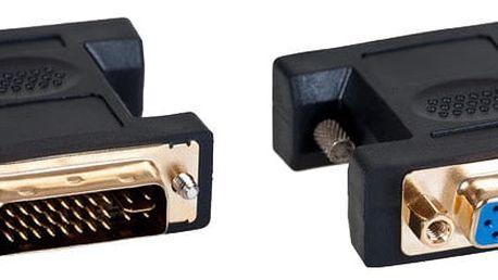 AQ DVI (24+5) samec - VGA (D-sub) samice - xkv105