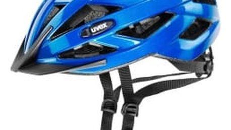 Uvex I-VO blue metallic 2017 cyklistická přilba