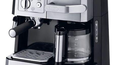 Espresso DeLonghi BCO 420.1 černé/stříbrné