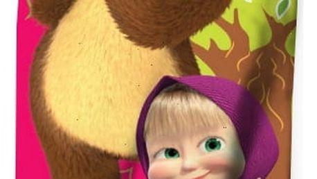 Dětská osuška Máša a medvěd