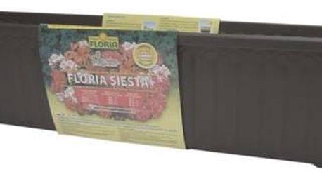 Truhlík Agro FLORIA SIESTA 80 cm - Čokoláda, samozavlažovací