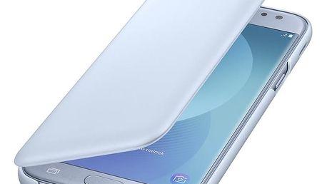 Samsung Galaxy J5 Flipové pouzdro, Wallet Cover, modré - EF-WJ530CLEGWW