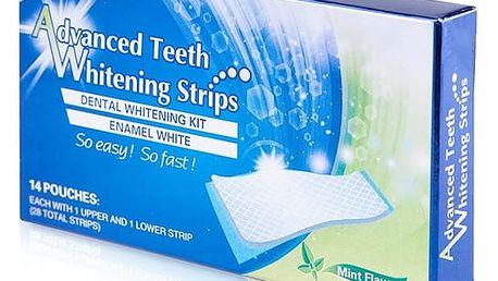 DENTAL 360 ° WHITE! Bělicí pásky na zuby