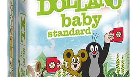 DOLLANO Baby Standart, velikost XL, (10-17 kg) 52ks - jednorázové pleny