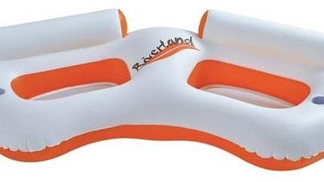 Lehátko nafukovací MASTER POOL Water Sofa 2 bílé/oranžové