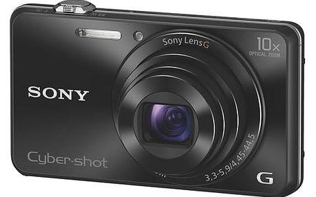 Digitální fotoaparát Sony DSC-WX220 černý + DOPRAVA ZDARMA