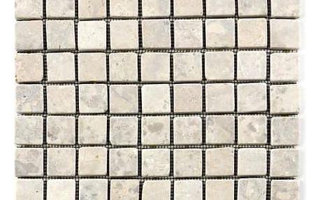 Divero Garth 1642 Mramorová mozaika - krémová obklady 1 m2