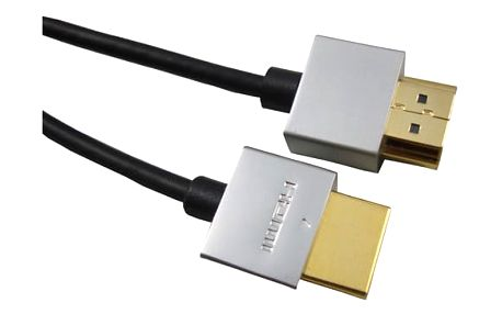 PremiumCord Slim HDMI + Ethernet kabel, 3m - 8592220011857