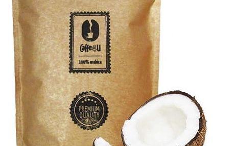 CAFFE4U Zelená káva mletá - kokos 250 g