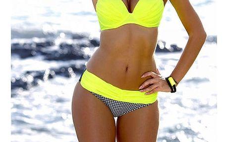 Dámské bikini v atraktivních barevných kombinacích - typ 27, velikost č. 2 - dodání do 2 dnů