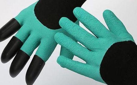 Zahradnické rukavice s drápy - dodání do 2 dnů