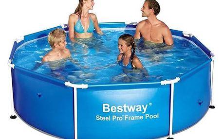 Bazén Bestway Steel Frame Pool 244 x 61 cm, 56431 + Doprava zdarma