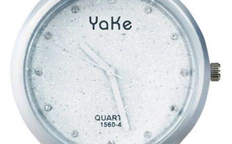 Yake Dámské náramkové hodinky se třpytkami