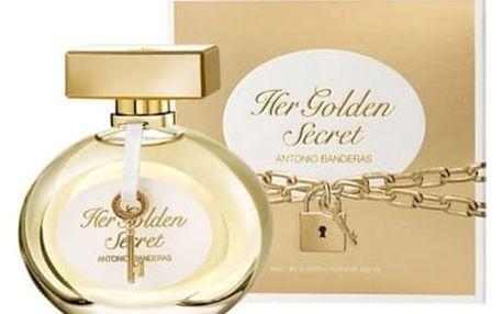 Antonio Banderas Her Golden Secret 80 ml toaletní voda tester pro ženy