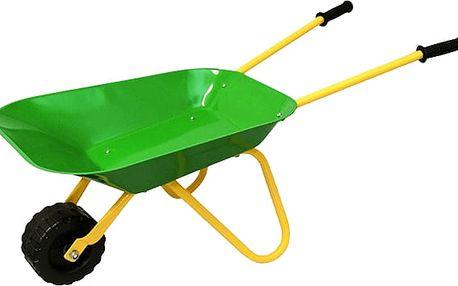 WOODY Kolečko zelené, kov - zahradní nářadí