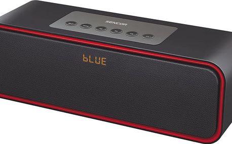 Sencor SSS 81, černá/červená - 8590669210602