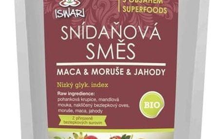 ISWARI BIO Snídaňová směs - Maca, moruše, jahoda 360 g