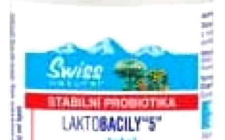 SWISS Laktobacily 5 120 tablet