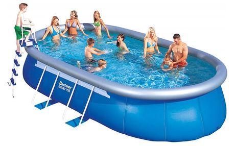 Rodinný bazén Bestway oválný 549 x 366 x 122 cm
