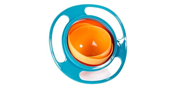 GYRO BOWL kouzelná miska pro děti s rotací až 360 °