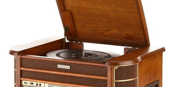 Gramofon Hyundai Retro RTCC 513 RIP dřevo