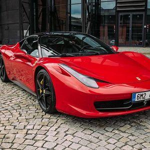 Jízda ve Ferrari 458 v Olomouckém kraji