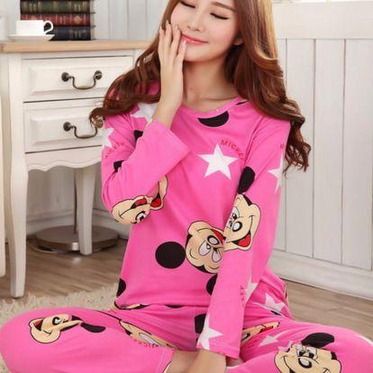 LK shop Pyžamo Mickey Mouse Barva: růžová, Varianta: L