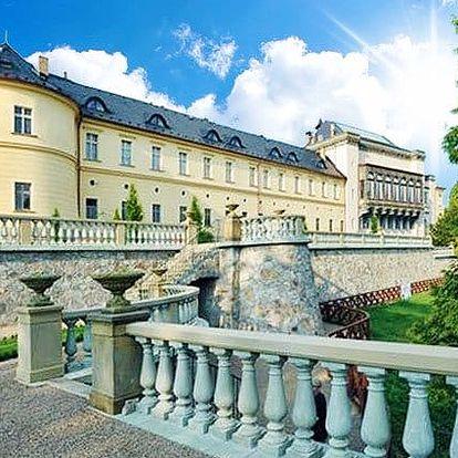 2denní pobyt pro 2 osoby s wellness a snídaněmi v zámeckém Chateau hotelu Zbiroh****