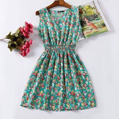 Rozmanité letní šaty - vzor: 9, velikost: 3 - dodání do 2 dnů